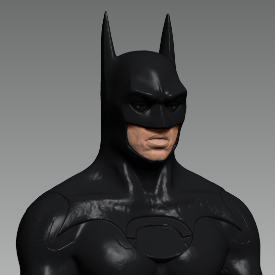 www.chinchilla3d.com 3D scanning Batman